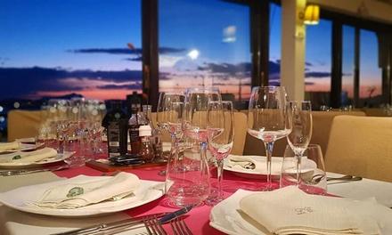 Menu gourmet di mare con vino a 59,90€euro