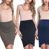 Maternity Asymmetric Pencil Skirt