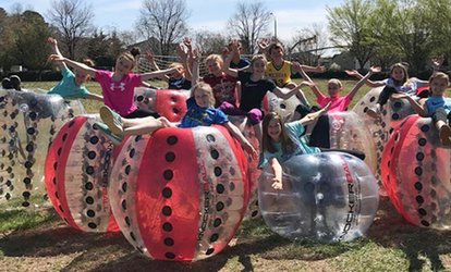 Open Play or Party Reservation at Triangle Knockerball (Up to 47% Off). Four Options Available.