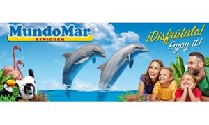 Mundomar: Entrada a MundoMar para adulto y/o niño desde