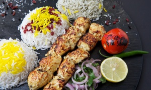 Noon & Kabab: Persian Kabab Meal for One or Two at Noon O Kabab (Up to 43% Off)
