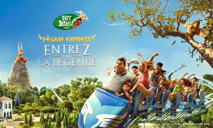 Dagticket Parc Asterix voor €29,32 dmv code