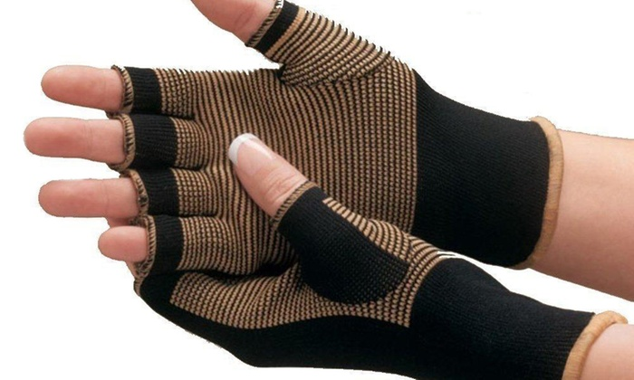 Copper Compression Comfort Gloves