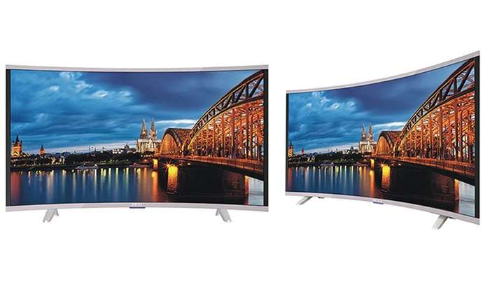Akai 49″ Full HD Smart Curved TV With Free Delivery for £369
