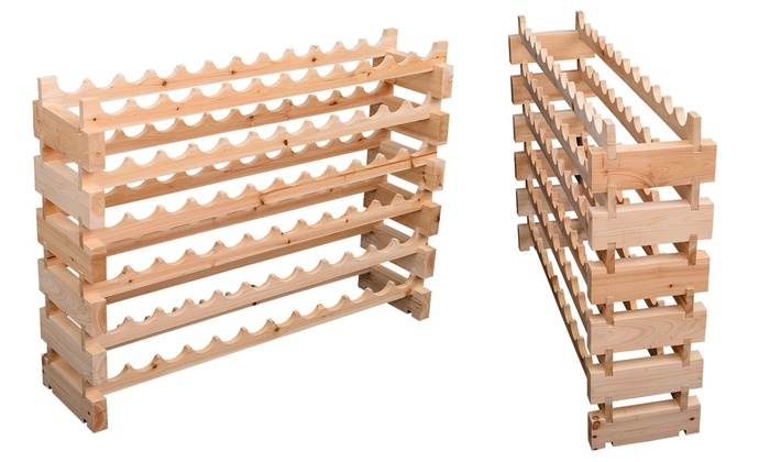 Groupon Goods Global GmbH: 72-Bottle Wine Rack for £54.98 With Free Delivery (42% Off)