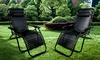Set of Two Reclining Zero Gravity Chairs
