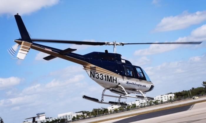Miami Jet Helicopter Tours  25 Off  Opa Locka FL  Groupon