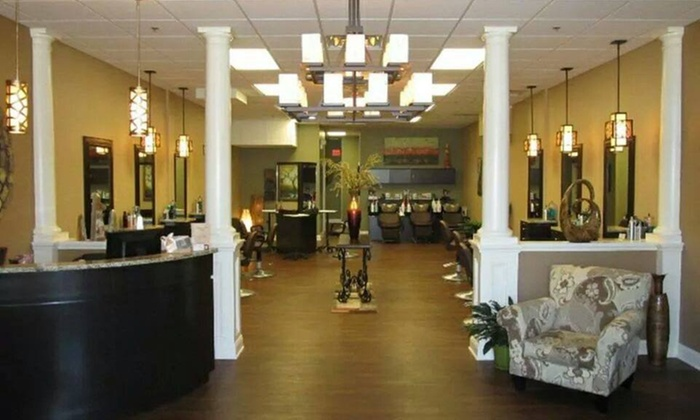Style Station Salon - Style Station Salon and Tanning: Up to 50% Off Haircut and Style or an Express Keratin Treatment at Style Station Salon