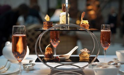 image for Spa Day with Chocolate Afternoon Tea and Prosecco for Two or Four at The Hilton Northampton Hotel (Up to 53% Off)