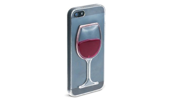 coque verre de vin iphone 6
