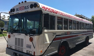 Big Red Bus: Craft Beer Tour & Tasting for One or Two from Big Red Bus (Up to 52% Off)