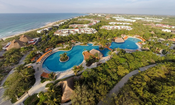 3 , 4 , 6 , Or 7 Night Adults Only All Inclusive Valentin Imperial Riviera  Maya Stay With Nonstop Air From Vacation Express In   Playa Del Carmen ...
