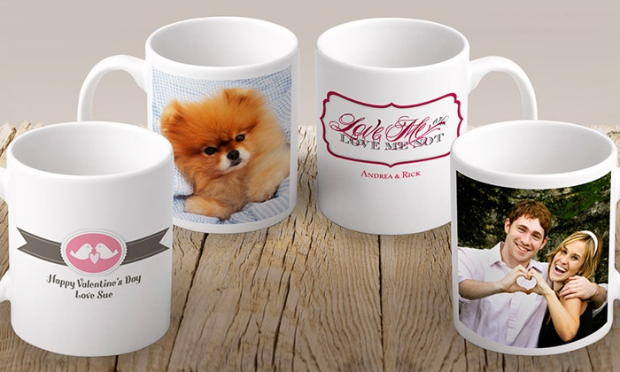 Vistaprint: $7 for a Custom Photo Mug from Vistaprint ($12 Value)