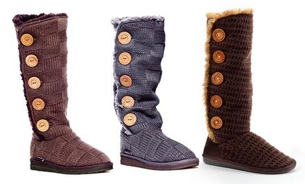 Muk Luks Malena Sweater Boots