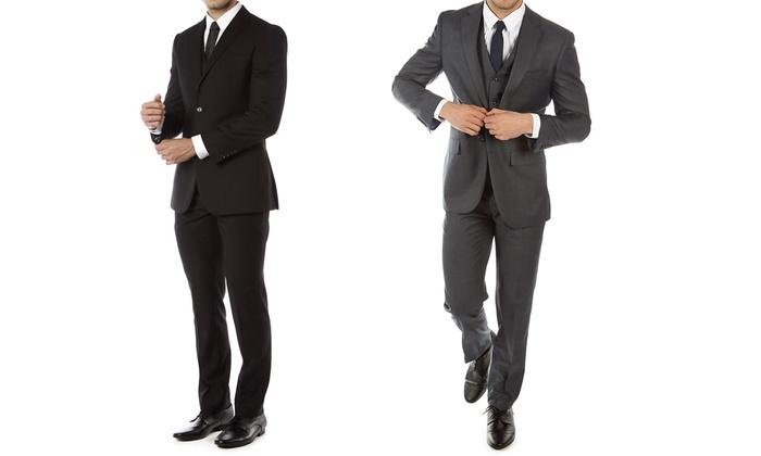 Alberto Cardinali Men's Slim-Fit Suit (3-Piece)