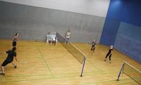 60 Min. Badminton, Squash oder Tischtennis inkl. Wellness für 2 Personen in der Squash-Insel (bis zu 58% sparen*)