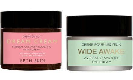 Wide awake avocado crema de ojos y dream cream natural colágeno crema de noche