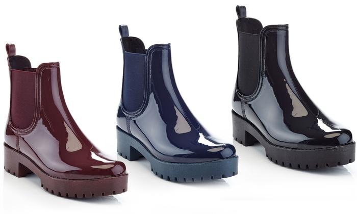 Henry Ferrera Forecast-100 Women's Platform Rain Boots
