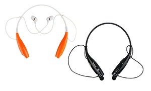 iPM Bluetooth Neckband Headset with Built-In Microphone: iPM Bluetooth Neckband Headset with Built-In Microphone