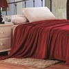 Luxury Home Solid-Color Micro Plush Blanket
