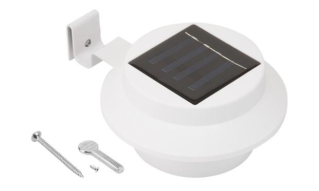 Utmark Solar Powered Gutter Lights Groupon Goods