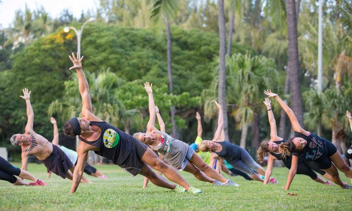 Hi Life Athletics - Multiple Locations: 10 Unlimited Yoga or Boot-Camp Classes or One Month of Classes at Hi Life Athletics (Up to 65% Off)