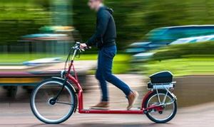 In Bici senza Sella: Noleggio di bici tapis roulant per 60 minuti per una o 2 persone con In Bici Senza Sella (sconto fino a 67%)