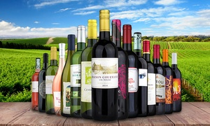 Heartwood & Oak: $65 for 15 Bottles of Premium Wine from Heartwood & Oak (Up to $310.85 Value)