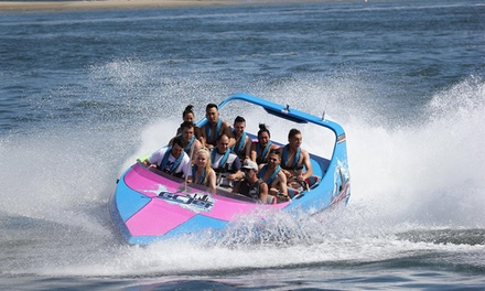 Jet Boat Experience and SUP Hire for One $49 or Two People $95 with Gold Coast Watersports Up to $180 Value