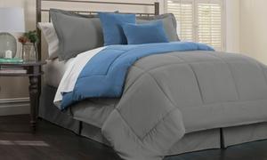 Hotel New York Embossed Down-Alternative Comforter Set (6-Piece)