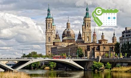 Zaragoza: Habitación doble para 2 personas con desayuno, detalle de bienvenida y opción a parking en Hotel El Príncipe