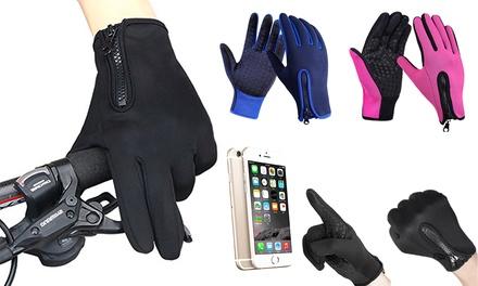 Guanti da ciclismo touchscreen