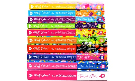 The Princess Diaries 10Book Collection for £19.98