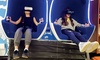 Expérience réalité virtuelle pour 2 personnes