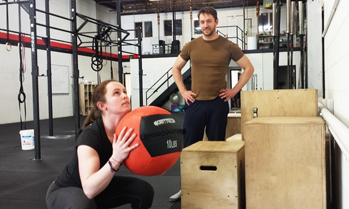 CrossFit Sabertooth - Northeast: $65 for Three Personal Training Sessions at CrossFit Sabertooth ($195 Value)