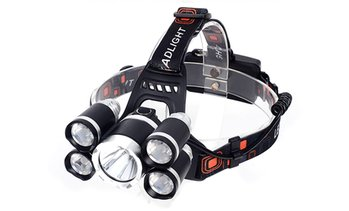 Five-LED Adjustable Headlamp