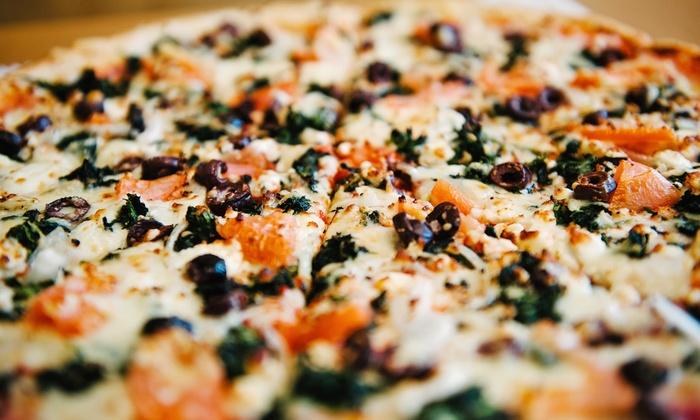 Athens Mediterranean Pizzeria - Thomaston: Greek Food for Dine-In or Takeout at Athens Mediterranean Pizzeria (Up to 40% Off)
