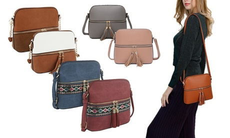 MKF Collection Alejandra Crossbody Handbag by Mia K. Farrow c28a018e-2683-48d5-aea9-5aff0e4a0d23