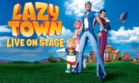 LazyTown Live On Stage, 16 July in London, 6 August in Stoke-on-Trent, 12 August in Liverpool (Up to 28% Off)