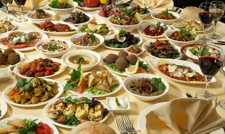 Menú degustación libanés para 2 personas con 8 o 10 platos, postre, bebida y pan desde 22,90€ en Hollywood Mediterranean