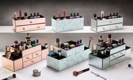 Organizador de cosméticos y joyería