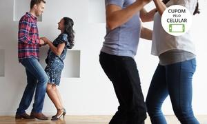 Clube da Dança de Salão: Clube da Dança de Salão – Pituba: 1, 2 ou 3 meses de aulas de dança de salão, zumba, hip hop, stiletto ou forró