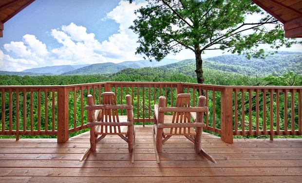 TripAlertz wants you to check out 2-Night Stay for Up to 20 in a One-, Two-, Three-, Four-, or Five-Bedroom Cabin at Elk Springs Resort in Gatlinburg, TN Log Cabins in Great Smoky Mountains - Tennessee Cabin Resort