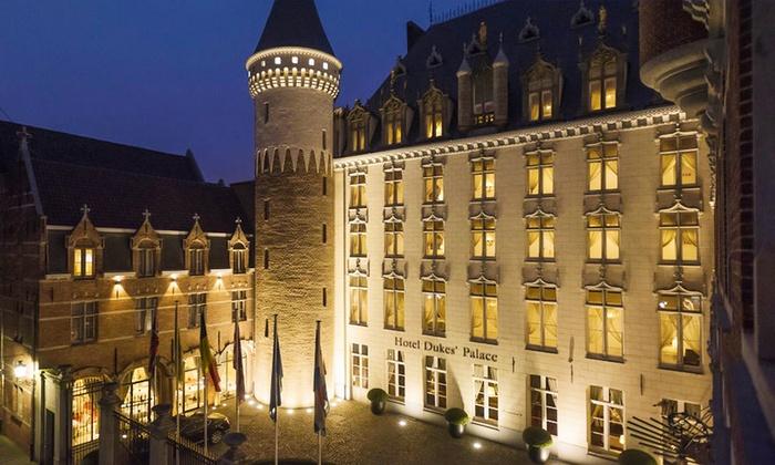 Hôtel Dukes' Palace - Bruges: Bruges : 1 à 3 nuits avec petit déjeuner et accès à l'espace bien-être à l'hôtel Dukes' Palace 5* pour 2 personnes