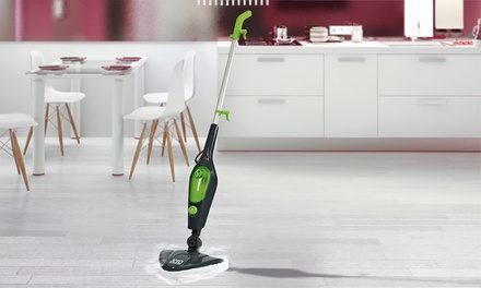 Easy Steam X10 10 in 1 Steam Mop with Accessories