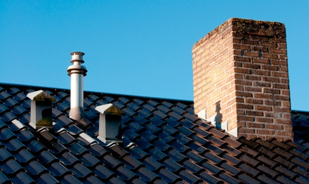 Chimney Cleaning and Inspection for a Home with One or Two Chimneys from Interstate Ventilation (Up to 64% Off)