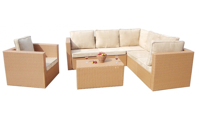 21-teiliges Gartenmöbel-Set | Groupon Goods