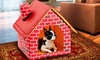 Groupon Goods: Brick Motif Portable Pet House