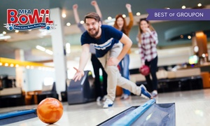 MFA Bowl Limited: Two Games of Bowling for Four or Six Adults, 28 Locations Nationwide (Up to 76% Off)