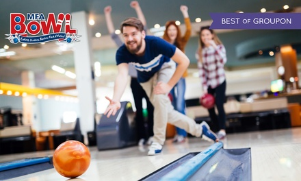 Two Games of Bowling for Four or Six Adults, 28 Locations Nationwide (Up to 76% Off)